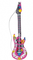 Inflatable Hippie Guitar (23944)